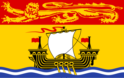 New Brunswick Fun Facts, provincial flag
