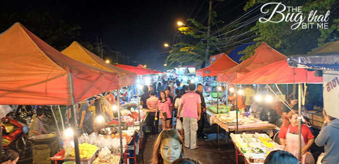 Ayutthaya night market