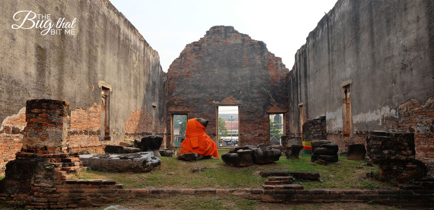 The Ruins of Lopburi, Thailand - The Bug That Bit Me