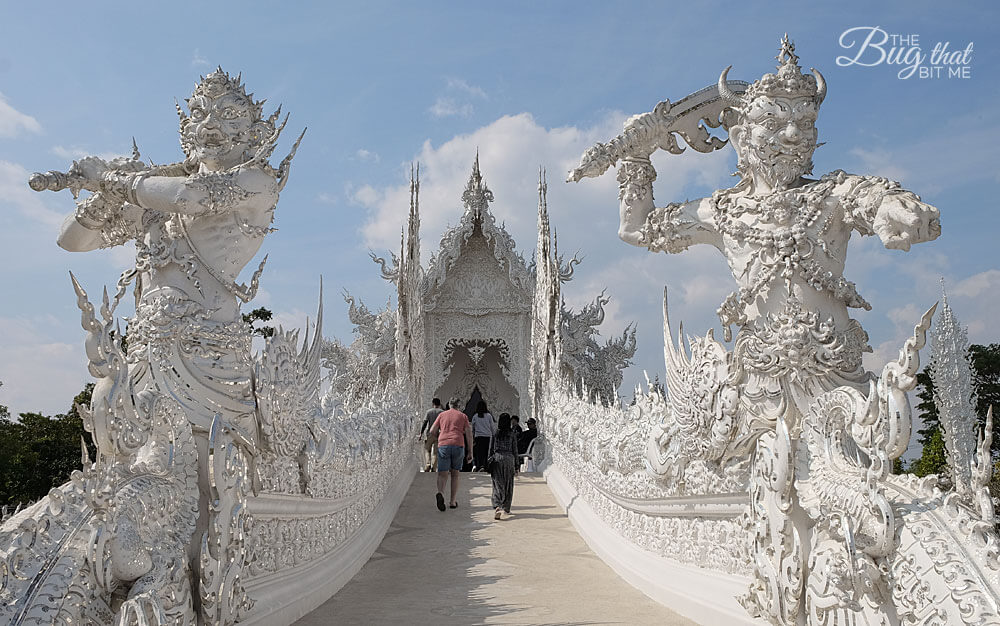 The White Temple, Wat Rong Khun