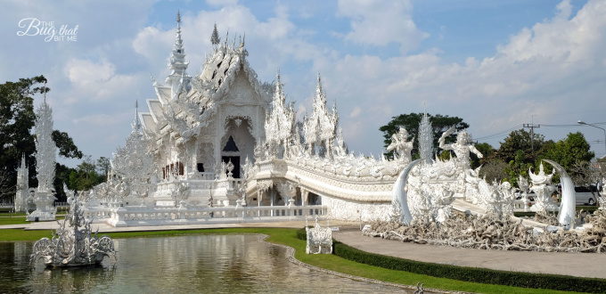 The White Temple, Chiang Rai, Thailand | The Bug That Bit Me