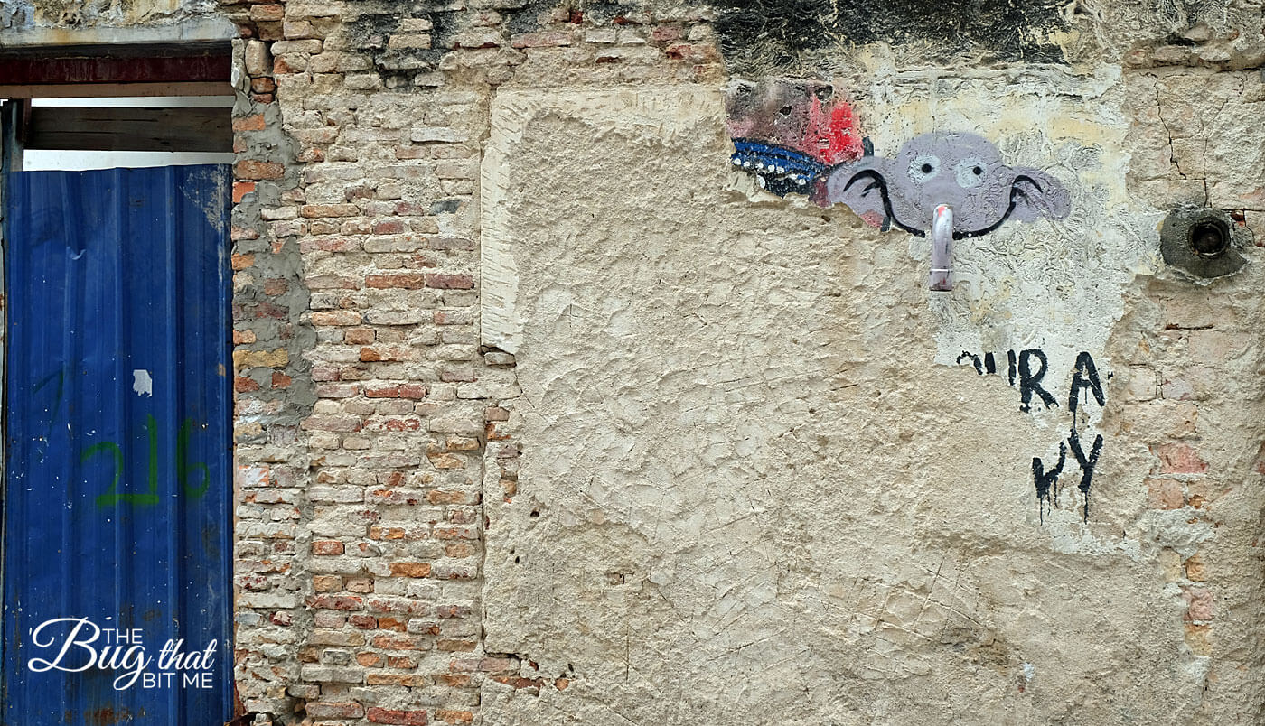 George Town, Penang, Malaysia Street Art | The Bug That Bit Me
