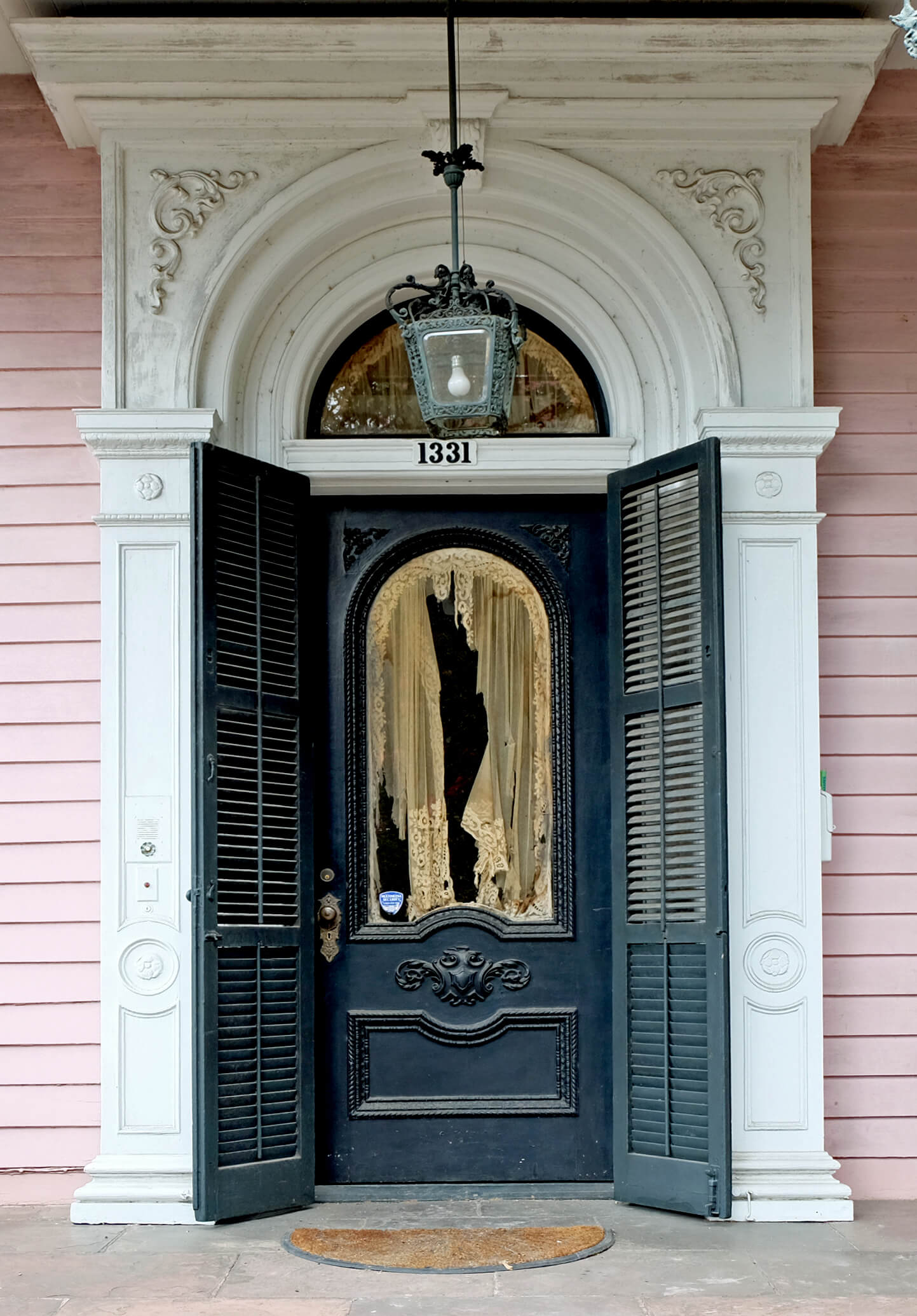 Garden District Front Door New Orleans